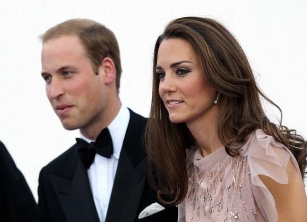 Ksiązę William i ksieżna Catherine /AFP