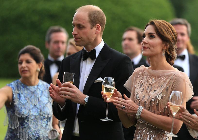 Książę William i księżna Kate Middleton /Getty Images