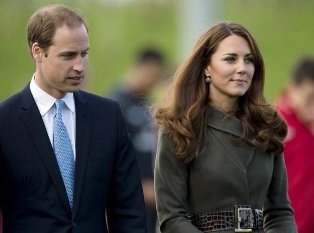 Książę William i księżna Kate /AFP