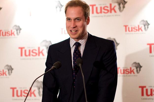 Książę William od dawna wspiera organizacje pozarządowe, które zajmują się wspieraniem najbiedniejszych krajów Afryki. Kocha przyrodę i działa na rzecz wymierających gatunków /AFP