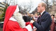 Książę William przekazał świętemu Mikołajowi list od synka