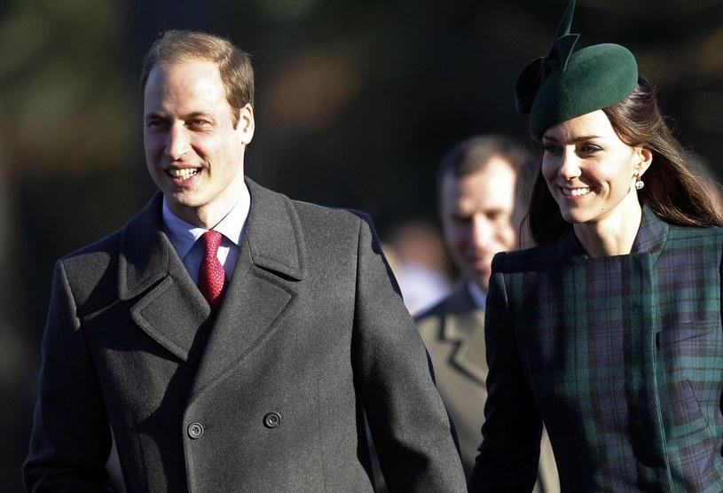 Książę William z księżną Kate. /AFP