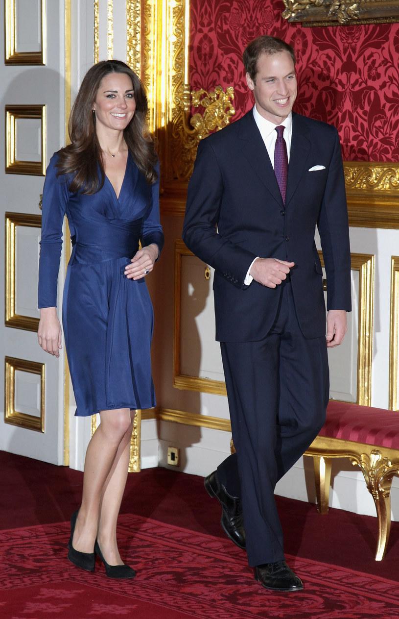 Książęca para w dniu oficjalnych zaręczyn /Getty Images