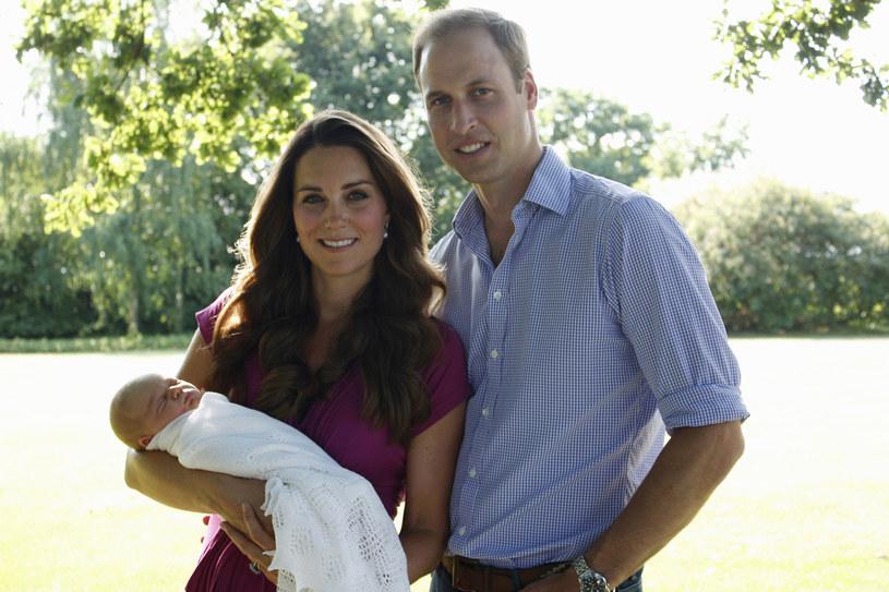 Książęca rodzina w komplecie /fot. Michael Middleton /AFP