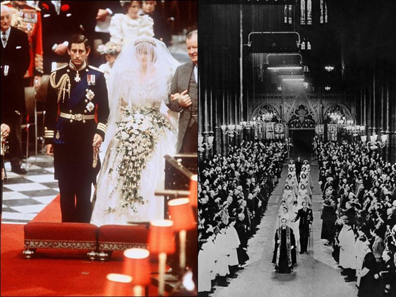 Książęcy ślub odbędzie się w katedrze Westminster - podobnie jak w 1981 r., kiedy Diana wychodziła za księcia Karola, oraz w 1947 r., gdy na ślubnym kobiecu stanęli książe Filip i księżniczka Elżbieta /AFP