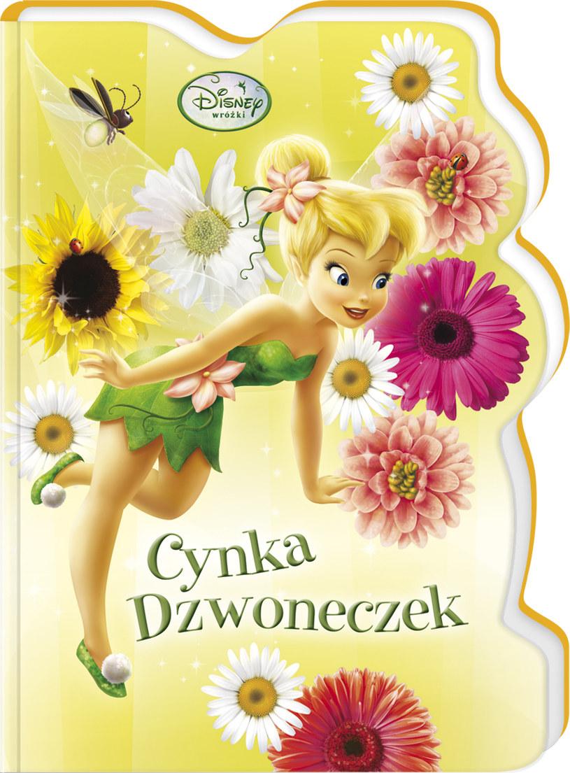 """książeczka z serii Disney Wróżki : """"Cynka Dzwoneczek"""" /INTERIA.PL"""