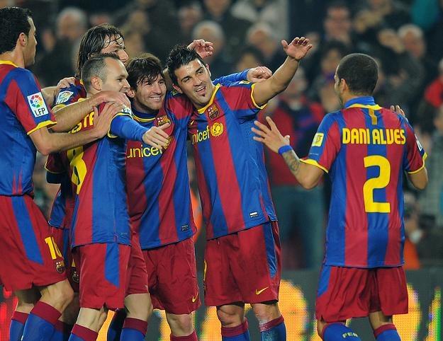 """Książka """"Głos z szatni"""" pokazuje filozofię pracy FC Barcelona /AFP"""