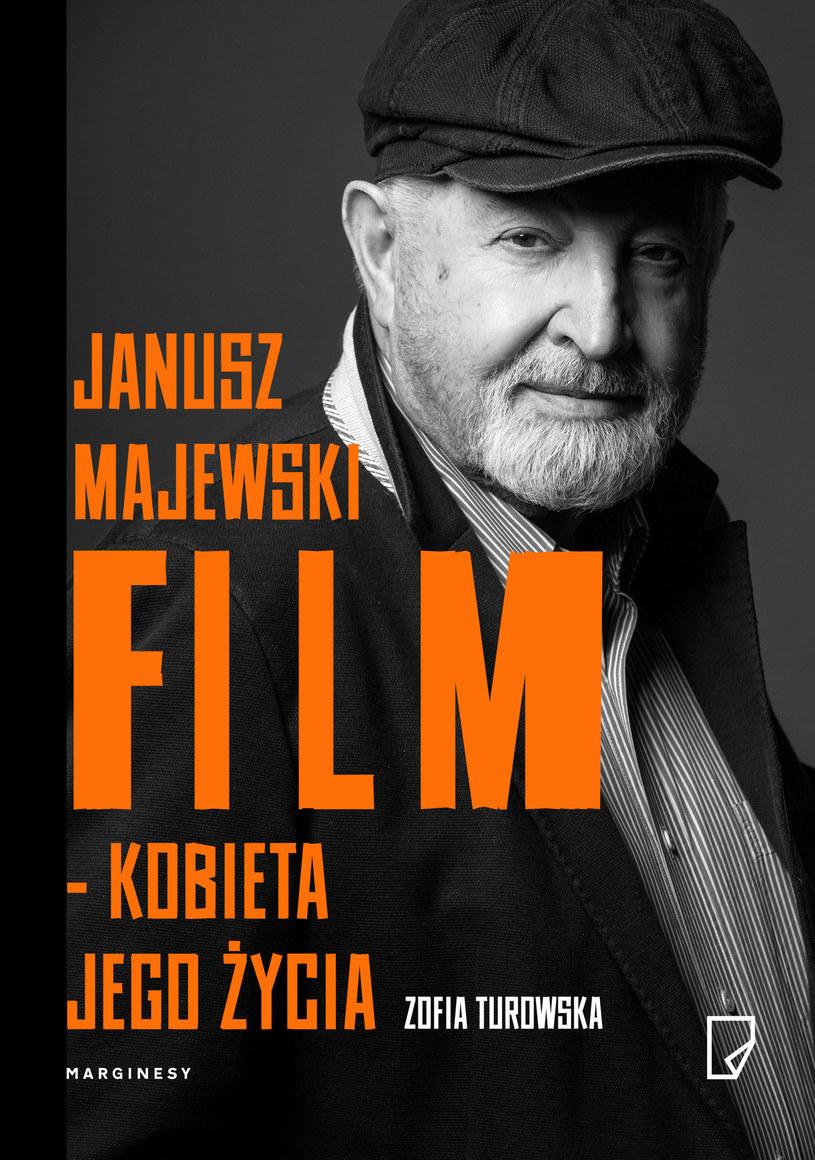 """Książka """"Janusz Majewski. Film – kobieta jego życia"""" ukazała się nakładem Wydawnictwa Marginesy /materiały prasowe"""