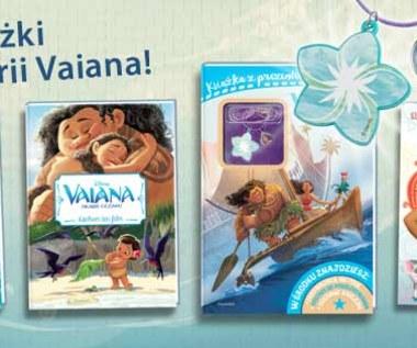 Książki i magazyn - Vaiana - Skarb oceanu