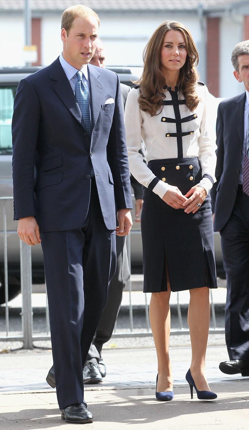 Księżna Catherine z księciem Williamem  /Getty Images/Flash Press Media