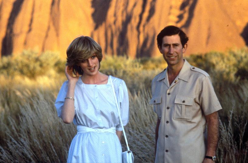 Księżna Diana i książę Karol /East News