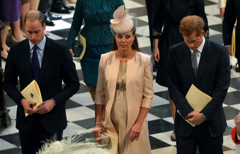 Księżna Kate i książę William nie chcieli znać płci dziecka /AFP