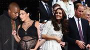 Księżna Kate i książę William pogratulowali Kim Kardashian narodzin synka!