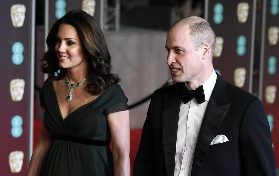 Księżna Kate i książę William pojawili się na gali rozdania nagród BAFTA /NEIL HALL /PAP/EPA