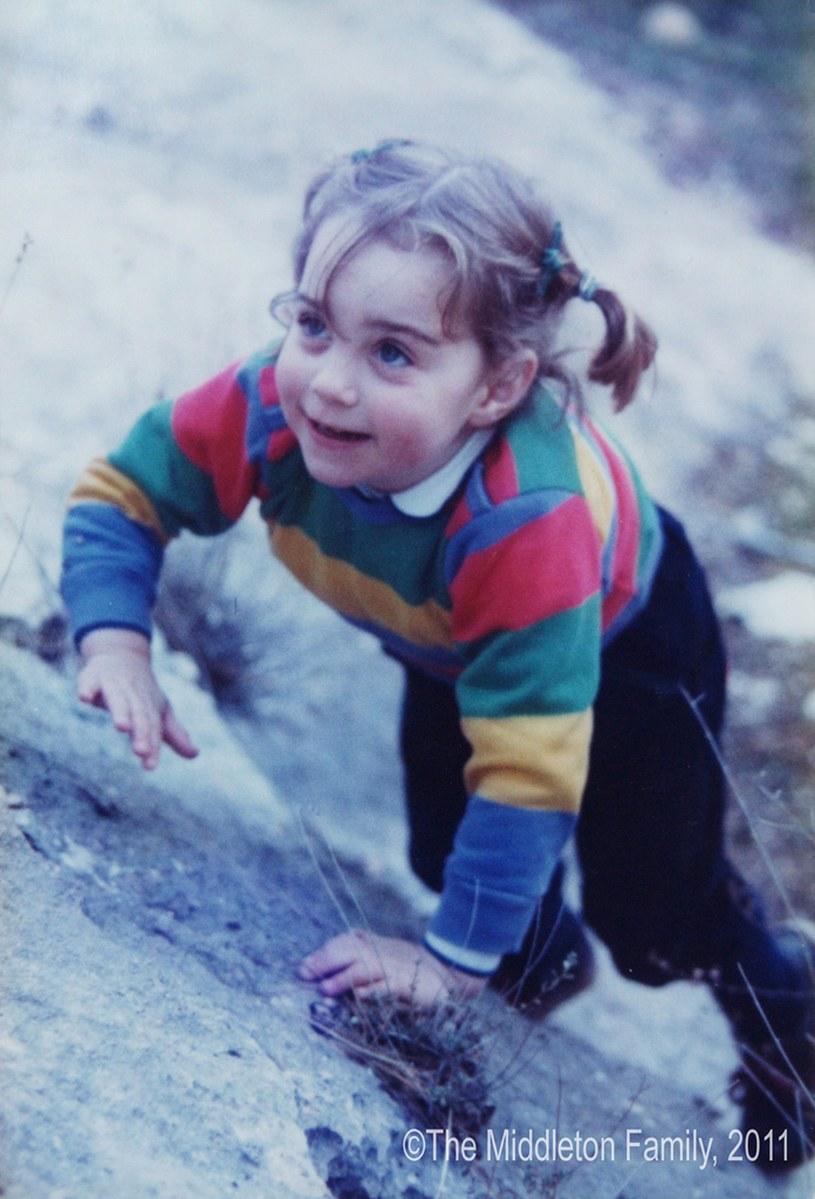 Księżna Kate jako dziecko /AFP/EAST NEWS /East News