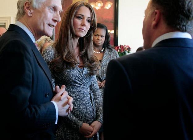 Księżna Kate niechcący ujawniła płeć dziecka /AFP