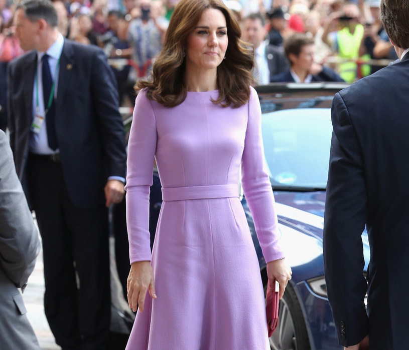 Księżna Kate pokochała lawendę /East News