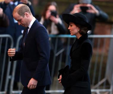 Księżna Kate w czarnej kreacji