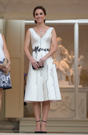 Księżna Kate w sukience polskiej projektantki