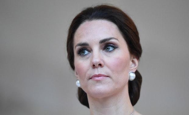 Księżna Kate w sukni polskiej projektantki. Jak Wam się podoba?