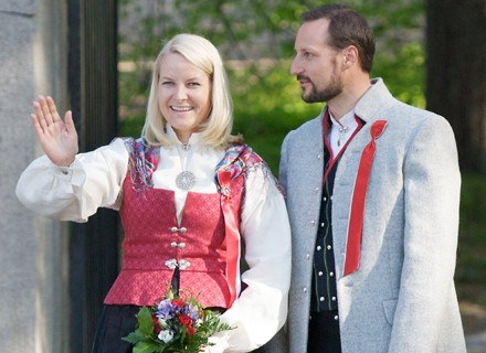Księżna Mette-Marit i książę Haakon /Getty Images/Flash Press Media