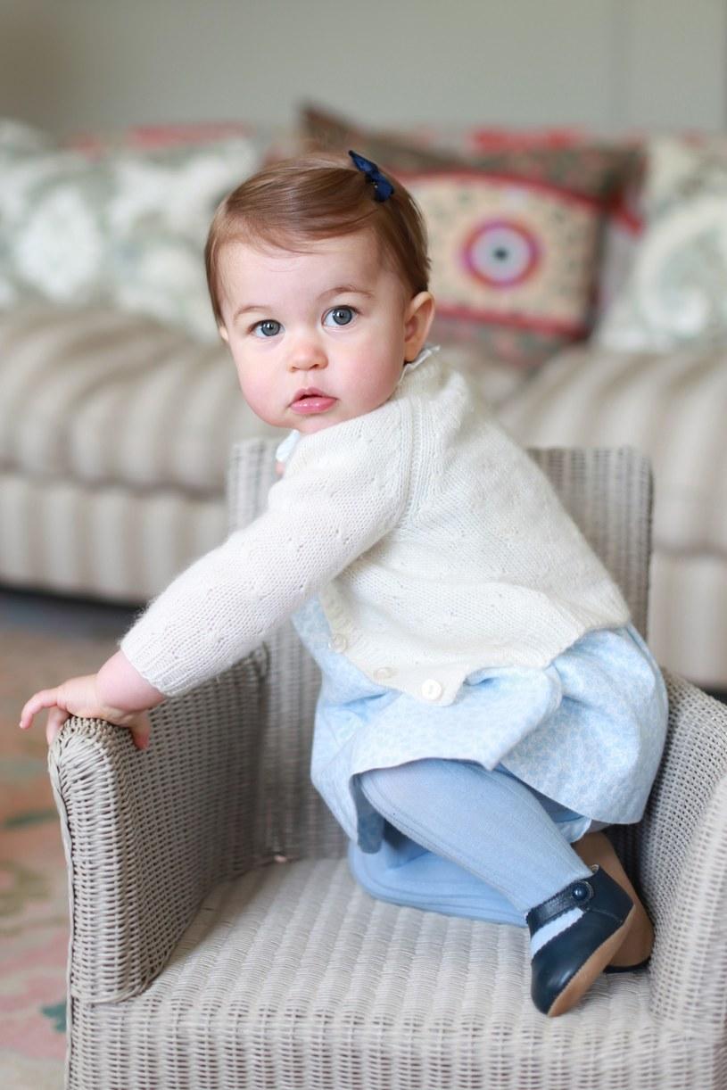 Księżniczka Charlotte - zdjęcie zrobione przez księżną Kate /Photoshot/REPORTER /East News