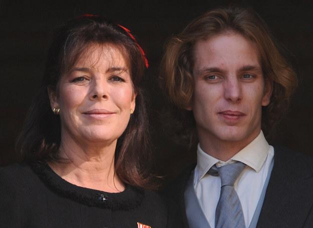 Księżniczka Karolina z synem Andreą /Getty Images