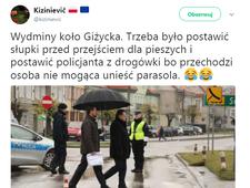 """""""Księżniczka Zieliński"""" i parasol"""