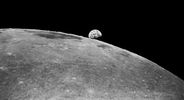 Księżyc mógłby po prostu spaść na naszą planetę... /NASA