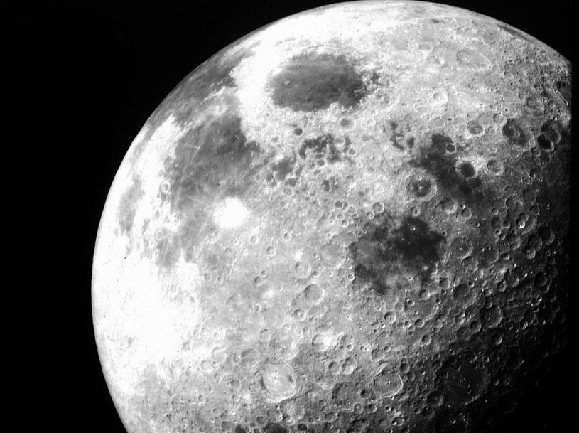 Księżyc powstał w wyniku kilku kolizji? /NASA