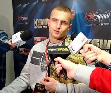 KSW 37: Marcin Wrzosek po wygranej walce z Arturem Sowińskim