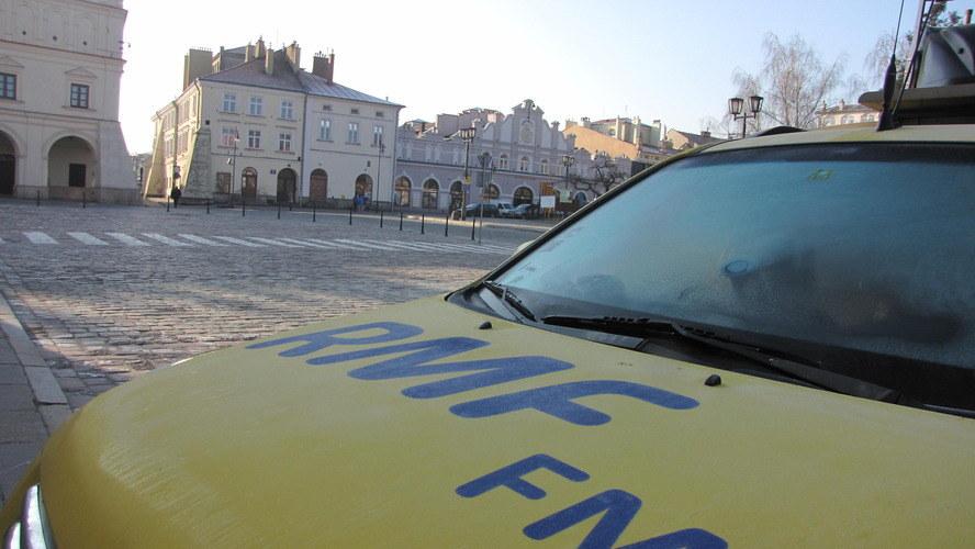 Które miasto tym razem odwiedzi żółto-niebieski wóz satelitarny? /Jacek Skóra /RMF FM