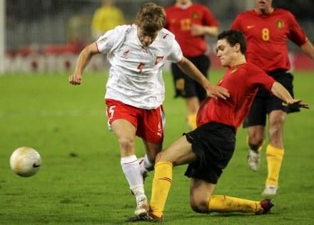 Kuba Błaszczykowski w wyjazdowym meczu z Belgią /AFP