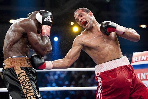 Kubański bokser Yoan Pablo Hernandez /AFP