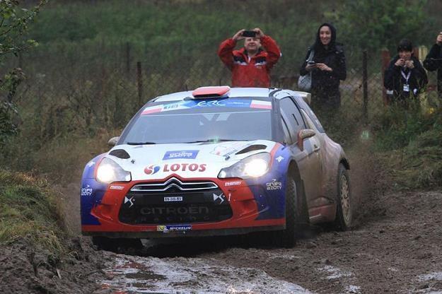 Kubica ma duże szanse na mistrzostwo świata w WRC2 / Fot: Marek Wicher /INTERIA.PL