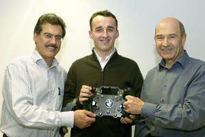 Kubica w BMW Sauber F1 Team