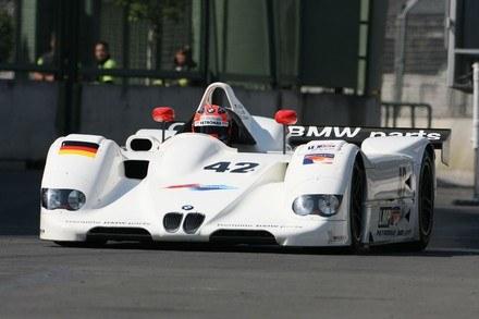 Kubica za kierownicą BMW V12 LMR /