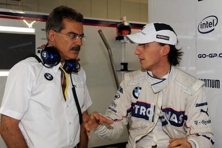 Kubica żegna się z BMW /