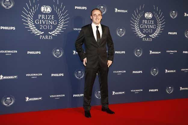 Kubica został osobowością roku w motosporcie. Fot. FIA /