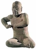 Kultura Olmeków, Zapaśnik, Uxpanapan w stanie Veracruz /Encyklopedia Internautica