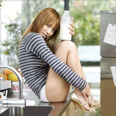 Kumi Koda mlekiem świętuje sprzedaż miliona płyt /