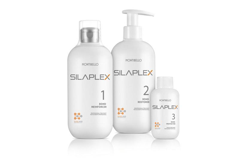Kuracja wzmacniająca włosy Silaplex, Montibello /materiały prasowe