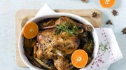 Kurczak korzenny na Boże Narodzenie z mandarynkami