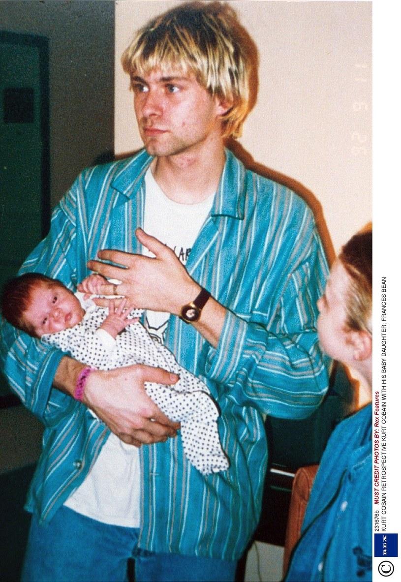Kurt Cobain z Frances Bean /Rex Features /East News