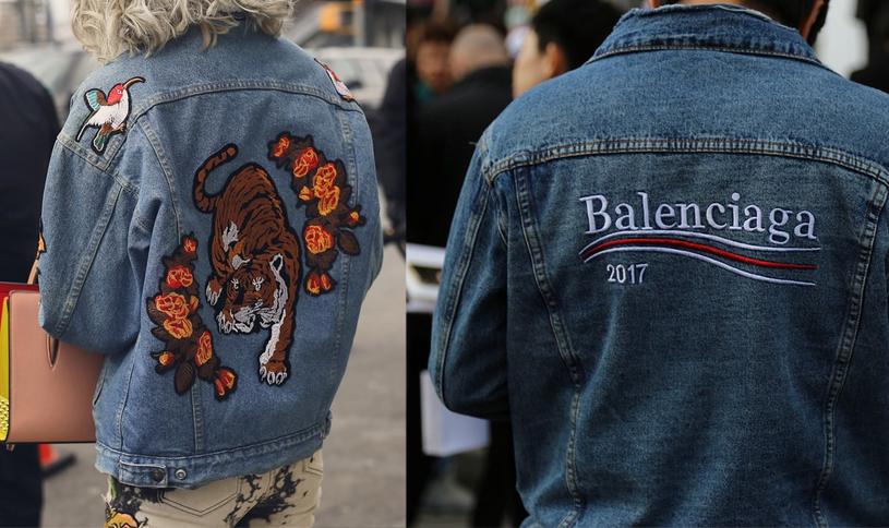 Kurtki jeansowe - moda 2018 /materiały prasowe