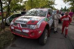 Kurz i wycie silników. Kolejny etap rajdu Baja Poland
