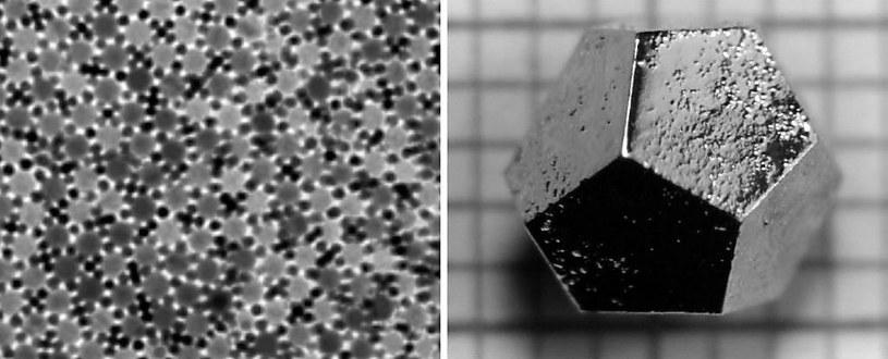 Kwazikryształy są niezwykle rzadkie /materiały prasowe