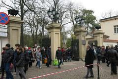 Kwesta na Cmentarzu Rakowickim w Krakowie