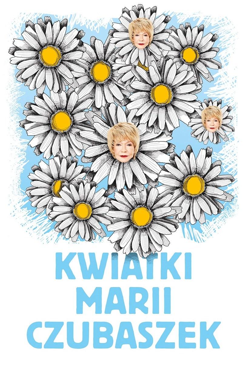 """""""Kwiatki Marii Czubaszek"""" /materiały prasowe"""