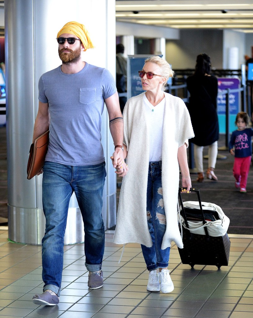 Kylie Minogue i Joshua Sasse /Splash News /East News